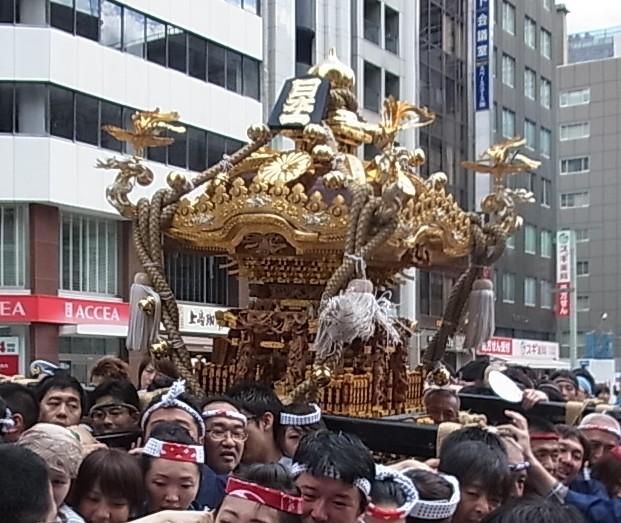 2012年 山王祭り 日本一の神輿