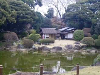 東京国立博物館/本館北側庭園