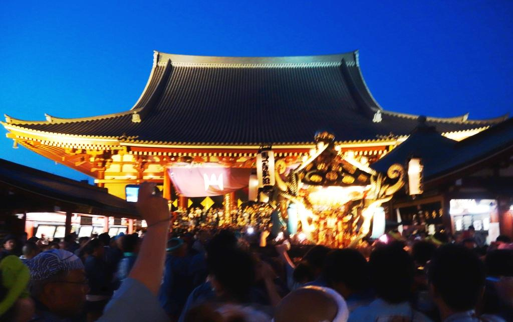 浅草初夏の風物詩 浅草三社祭