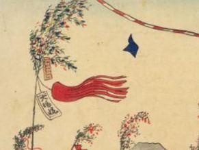 7月7日 七夕祭の江戸の風景