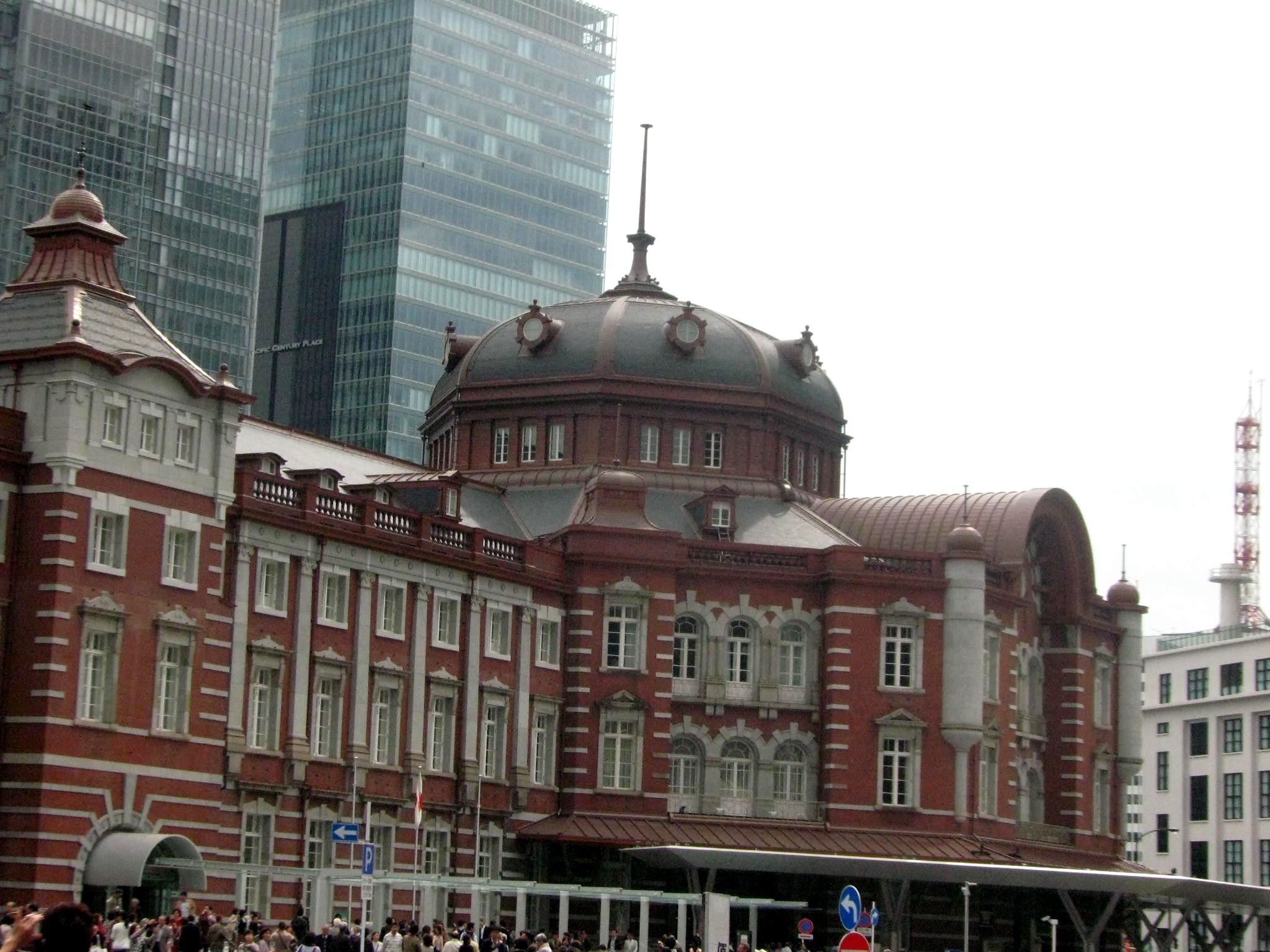 東京駅丸の内駅舎-原点復元 〜2012年10月1日
