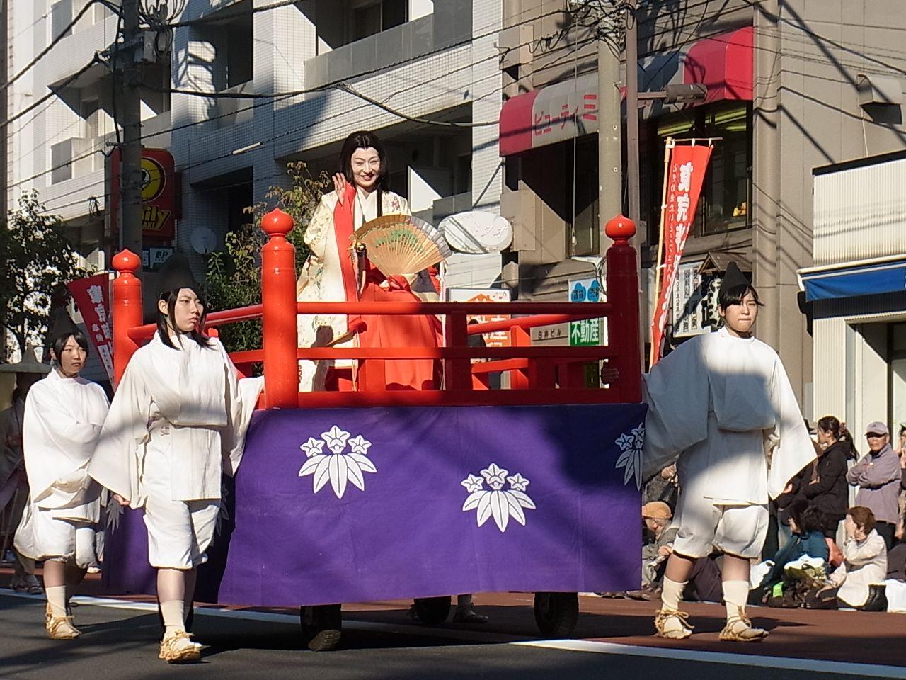 東京時代まつり行列歴史絵巻 北条政子