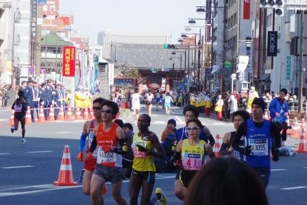 東京マラソン- 2013年