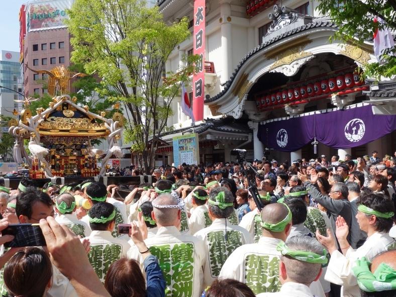 5月3日 鉄砲洲稲荷神社例大祭